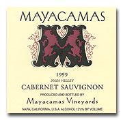 1999 Mayacamas Cabernet Sauvignon